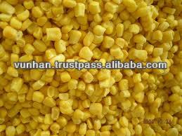 Best selling Vietnam high quality IQF frozen sweet corn