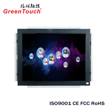 Cheap 19 Inch LED LCD Touch Screen Monitor with VGA DVI HDMIed