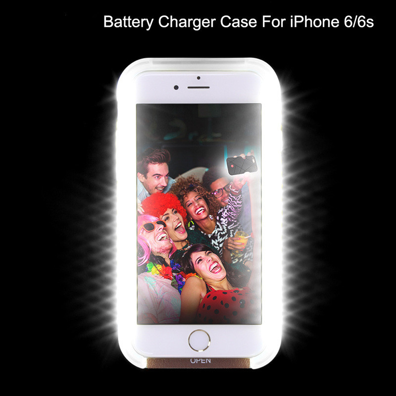 2016 light up phone case, back cover for iphone