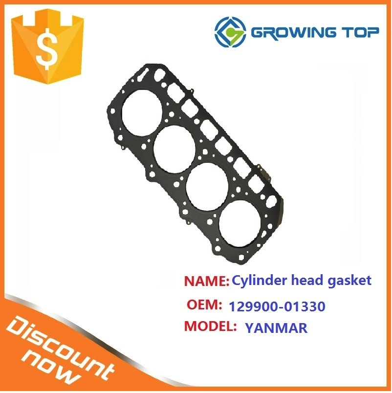 High performance 129900-01330 cylinder head gasket for yanmarc