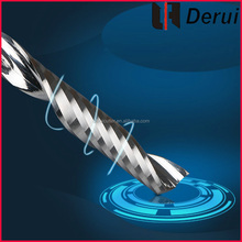 one flute spipal altin end mill/cutter milling machine/end mill sharpening machine
