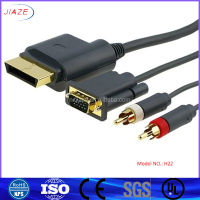 HOT SELLING HDMI to VGA 3 RCA Cable /HDMI to 3 RCA Cable +VGA Cable/HDMI TO RCA cable with Lotus Connector
