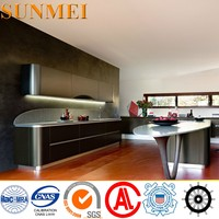 Customized Made Modern Kitchen Used Stainless Steel Cabinets Price
