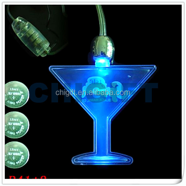 Battery Operated Wholesale Glow LED Necklace