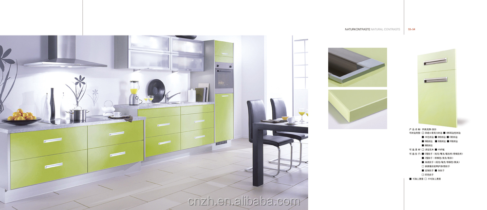 High gloss uv coating kitchen cabinet door view uv for Kitchen cabinets 700mm
