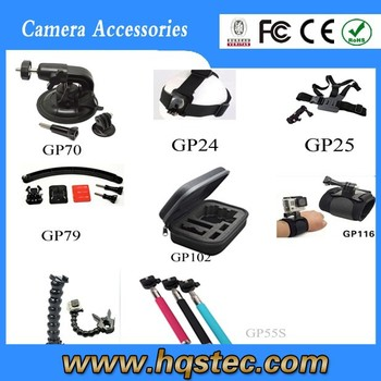 GoProS Accessories Set for Outdoor Travel Suitable GoPros 4/3+/3/2/1