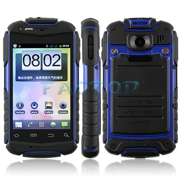 Professional dual sim dual standby discovery v5+ flash light long standby time android rugged phone