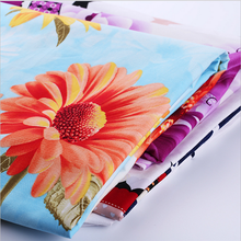 high quality cotton textile fabric with printed