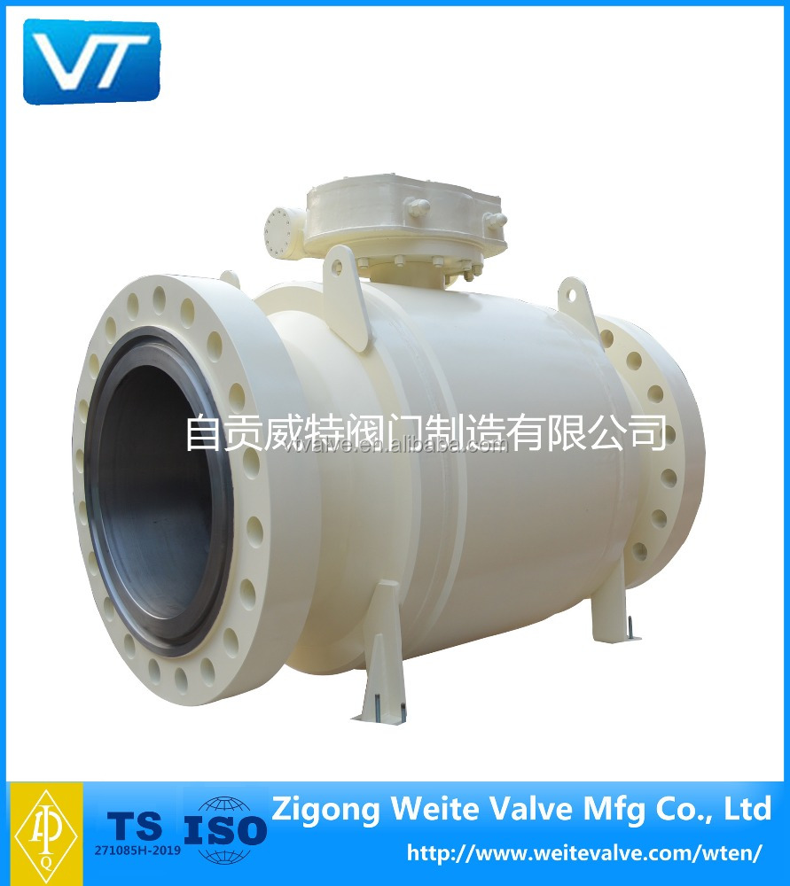 Forged Steel Trunnion Mounted flange Ball Valve