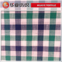 cotton linen yarn dyed fabric china mill for men's shirt