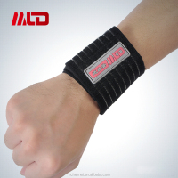 Hot Sell Adjustable Sport Gym Protector Wristbands Elastic Wrist Band Bandage Support Sports Wrist Band With OEM Service
