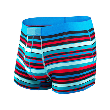 Wholesale cotton boxers mens underwear boxers with elastic band