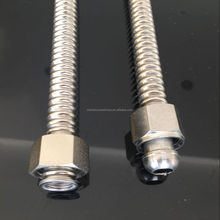 Boiler Flex Flexible Stainless Steel Corrugated Metal Water Connector Hose