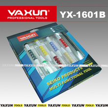 YAXUN YX1601B Phillips+1.2/1.5/2.0 Torx T3 T5 T6 Pentalobe 0.8 Cell Phone Repair Kit Tool Set mobile repair Screwdrivers set