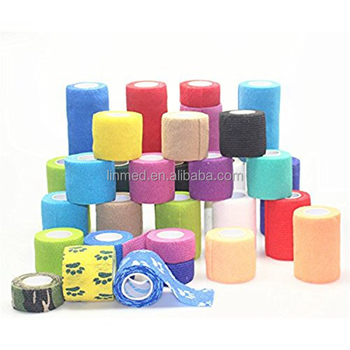 Non-Woven Fabric Cohesive Elastic Bandage Wrap Tapes