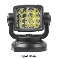 Mining marine rescue searching LED search light 80W Remote control boat led searchlight for searching Aluminum house 12V 24VDC