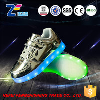 HFR-TS51078 safety fashion portable high neck led shoes man spider