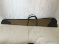 Deluxe Canvas & Leather Gun Case for Hunting