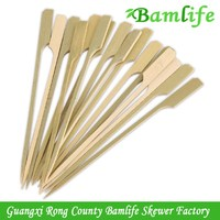 Newest stylish bbq sticks wooden or bamboo