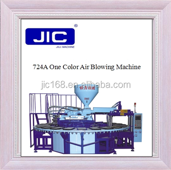 PVC air blowing slipper injection molding machine