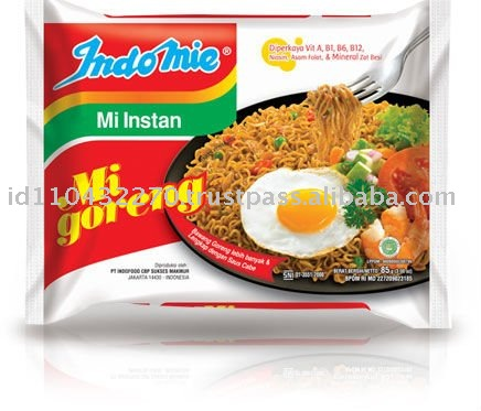 IFN0001 Indonesian Indomie Fried Instant Noodle