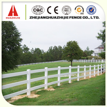 Recycled vinyl horse fencing panels with super quality