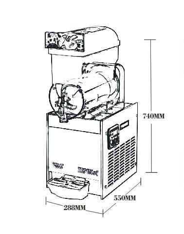 slush machine for sale cheap