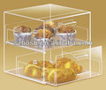 Acrylic bakey packing box bakery box;Acrylic bekary container;