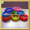 colorful girls cheap silicone wrist rubber band