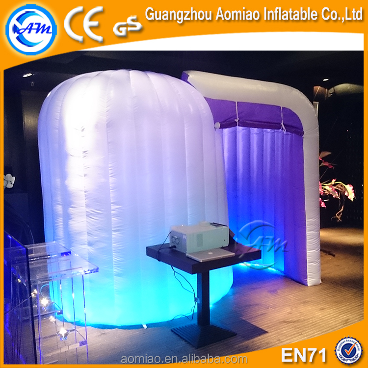 2016 cheap tent advertising inflatable booth tent for sale