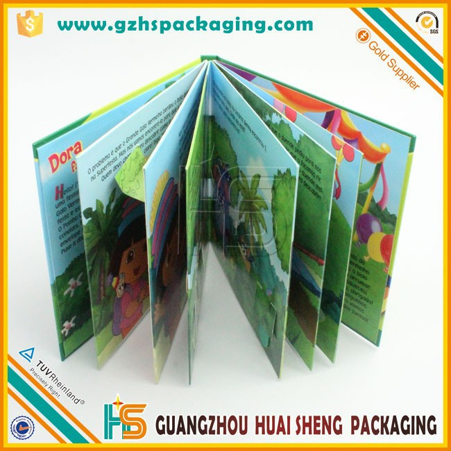 Story Board Children Thick Paper Book Printing