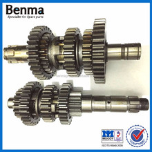 Motorcycle spare parts/YBR125 main shaft for motorcycle for sale