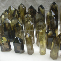 Natural Smokey Citrine Quartz Crystal Points