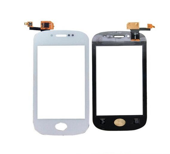For Fly IQ448 Touch Screen Front Glass Panel for Fly IQ448 Perfect Digiziter Replacement Black/White