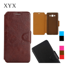 alibaba express ultra thin leather material for samsung galaxy on7 g6000 flip case cover
