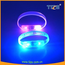 Sound activated led wristband flashing bracelets party supplies wholesale China