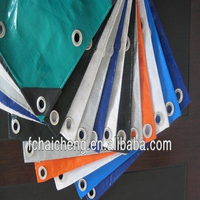 heated welding woven fabric polyethylene tarp used for market stall cover
