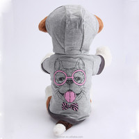 2015 Fashion Retro Cotton Dog Clothes Tshirt Leisure Dog Clothes Wholesale