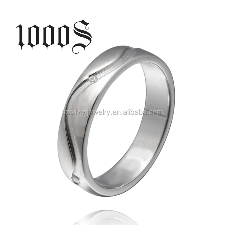 Gay Men Ring 925 Sterling Silver Band Engagement Simple New Design Promise Ring Jewellery
