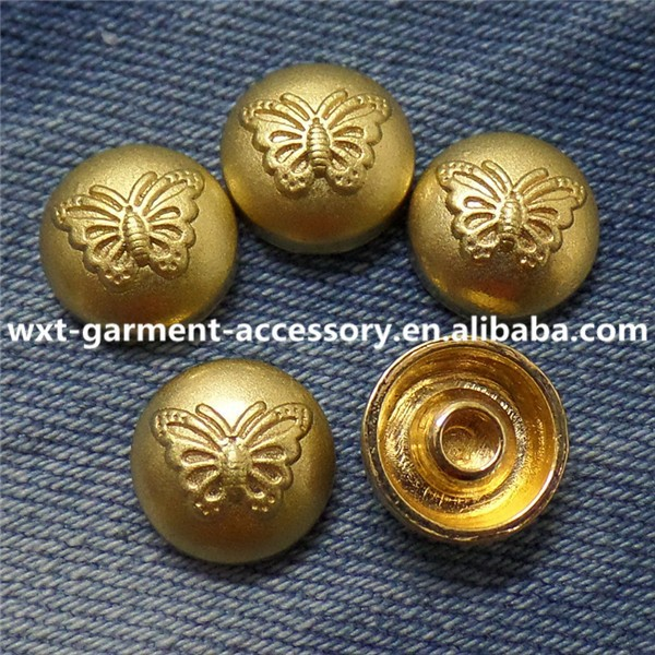R-132 metal studs and rivets for bags,jeans studs for bags,dome metal rivet