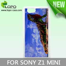 Best selling Sublimation case for Sony z1 mini, PC material