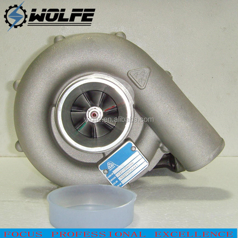 K27.4 K27.6 Balanced Billet Wheel Turbo Charger 53279886441 6 Cylinders car turbos for industrial unimog NG LN2 with OM366A