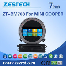 ZESTECH Chinese factory 2 din car dvd for BMW MINI COOPER car dvd stereo radio Canbus TV AM FM