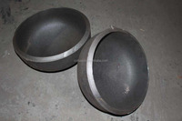 DIN2617 MS carbon steel pipe cap with top quality