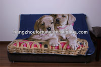 Double Brush Fleece Blanket,Cute Print Baby Blanket Fabric
