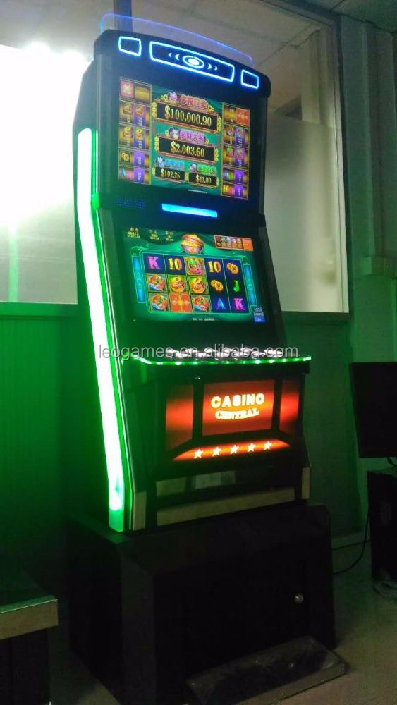 High income American Original Touch Screen Slot Machine Casino Games Cabinets for Sale