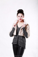 Removable new long fashion style down coat women