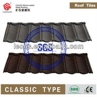 Colorful Sand Coated Metal Roof|Aluminum Roof Shingles|Stone Coated Metal Roof Shingles