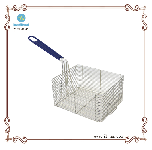 Stainless steel french deep fry basket