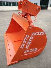 Excavator Hydraulic Tilting Bucket : backhoe/6 tons-30 tons CAT312BC/ZX120/PC120/CAT320BCD/ZX200/PC200/CAT325BCD/ZX270/JD270/CAT